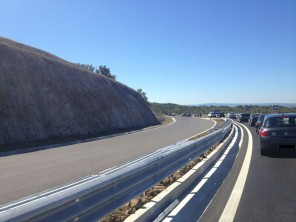 Autobahn in Kroatien