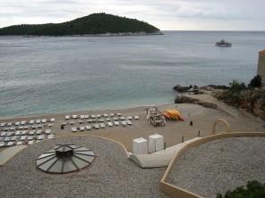 Strand Banje in Dubrovnik