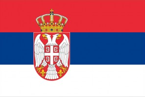 serbien-flagge