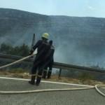 Kroatien brennt! In fast allen Teilen an der Küste ist etwas los, Bora oder Feuer