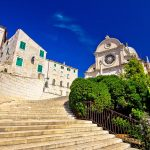 Internationale Messe in Sibenik an der Adria