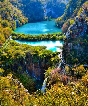 Nationalpark Plitvice Seen